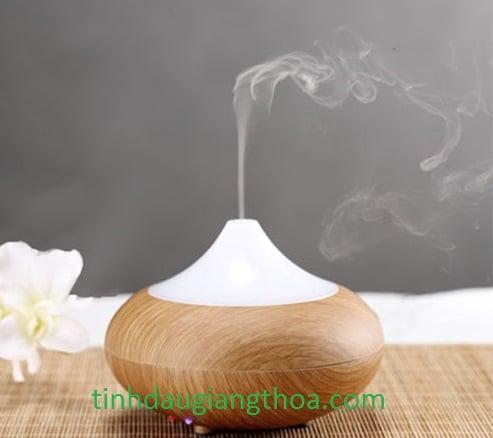 Xông tinh dầu hoa Ly giúp không khí có mùi hương đậm đà dễ chịu