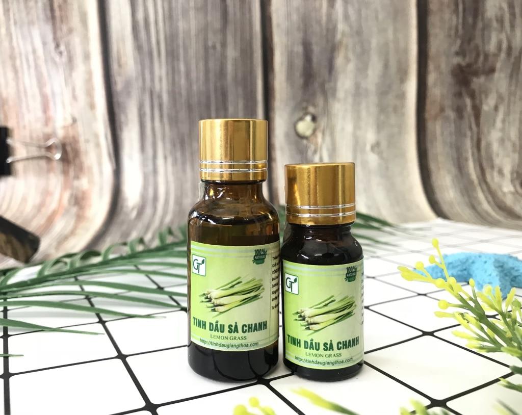 Tinh dầu sả chanh tại tinh dầu GT (Ảnh sản phẩm chai 10-20ml)