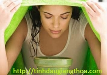 Xông hơi với tinh dầu bưởi giúp làm sạch sâu cho da, ngừa mụn, thư giãn tinh thần