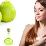 Cách ủ tóc bằng tinh dầu bưởi ngăn tóc gãy rụng siêu hiệu quả