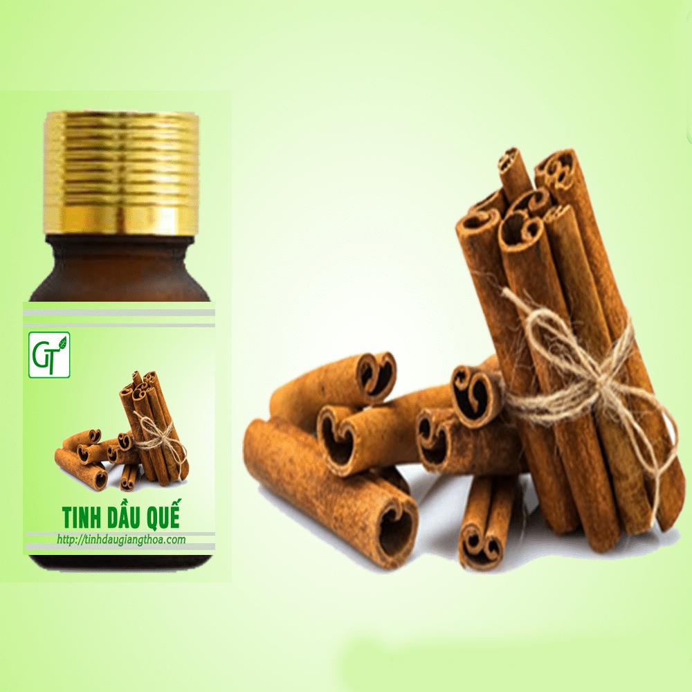 Tinh dầu Quế nguyên chất tại tinh dầu GT có hàm lượng cao nên có đặc tính xát khuẩn mạnh và hương thơm tự nhiên