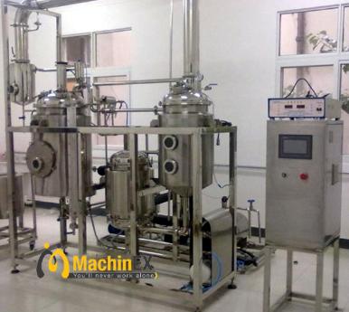 Hệ thống chưng cất hơi nước thu được tinh dầu tràm hàm lượng cao